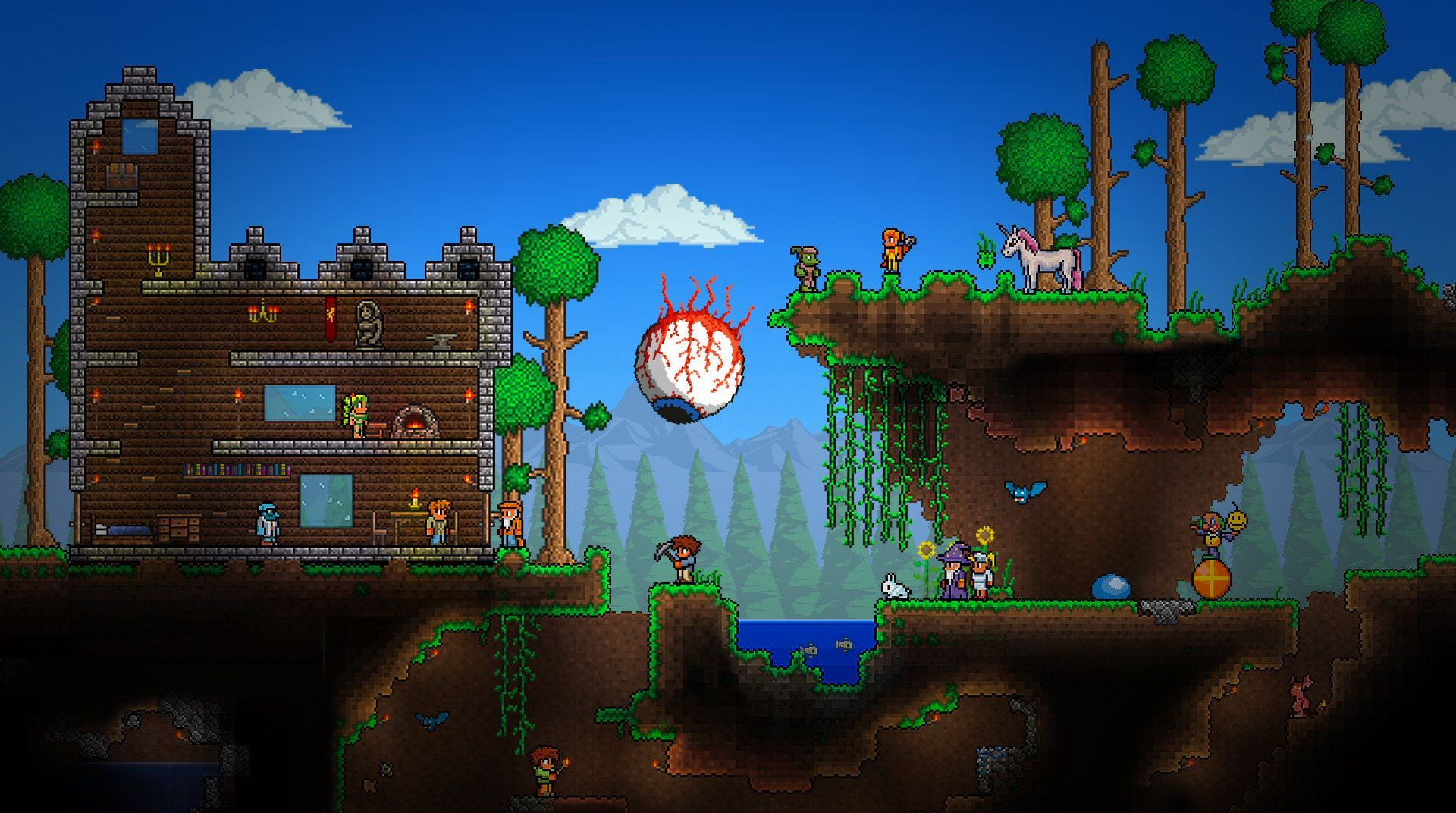 Download Terraria on PC with BlueStacks