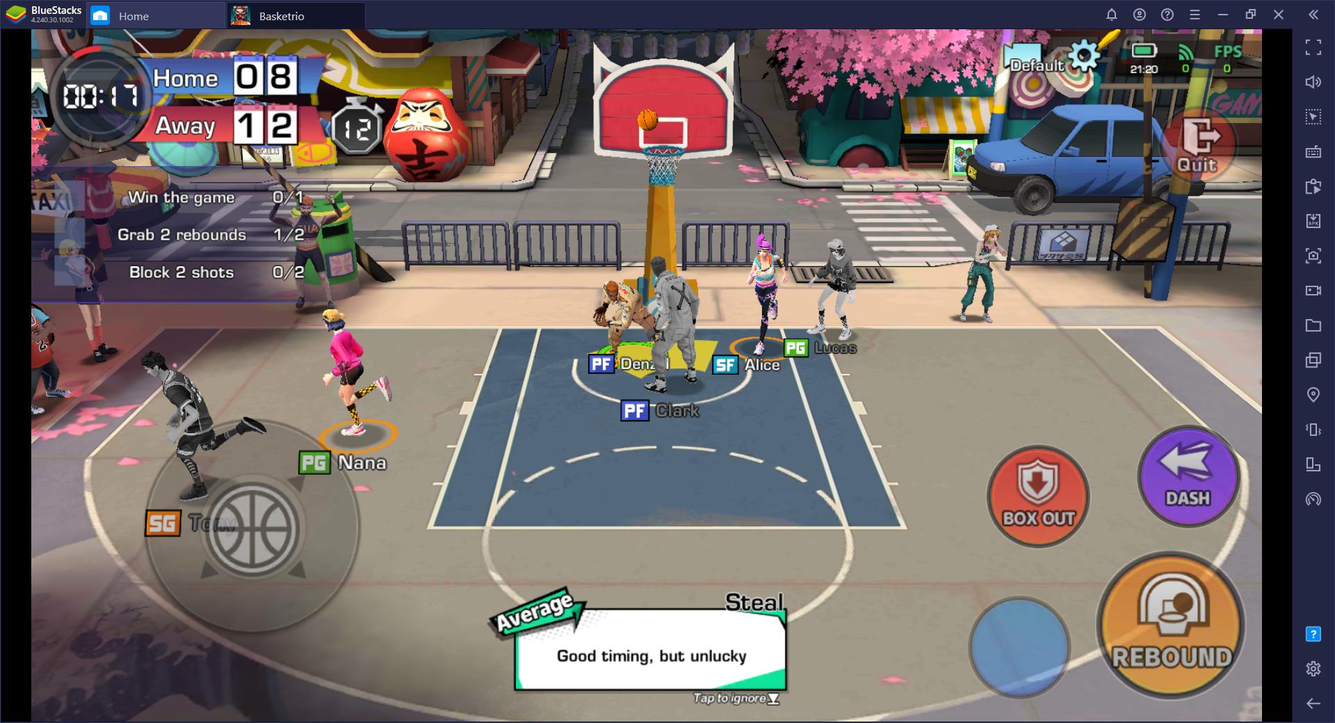 Basketrio di PC – Tips dan Trik Untuk Newbie Dalam Bermain Menggunakan BlueStacks di PC dan Mac