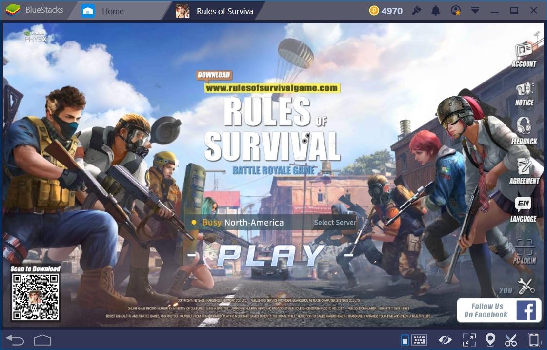 Rules of Survival: BlueStacks Kurulum Rehberi