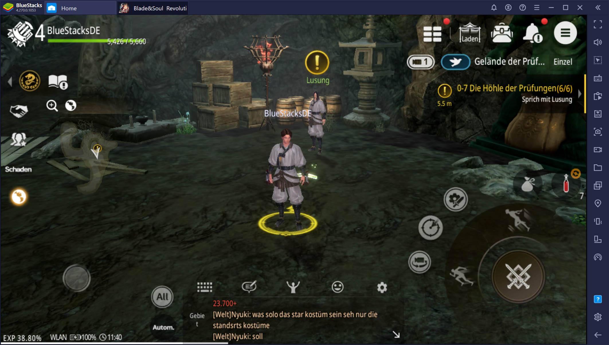 Wie man Blade&Soul Revolution auf dem PC mit BlueStacks spielt