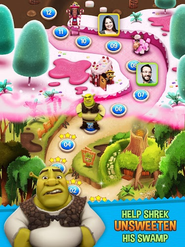 Chơi Shrek Sugar Fever on PC 8