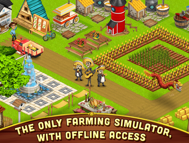 เล่น ฟาร์มขนาดใหญ่เล็ก ๆ น้อย ๆ on PC 13