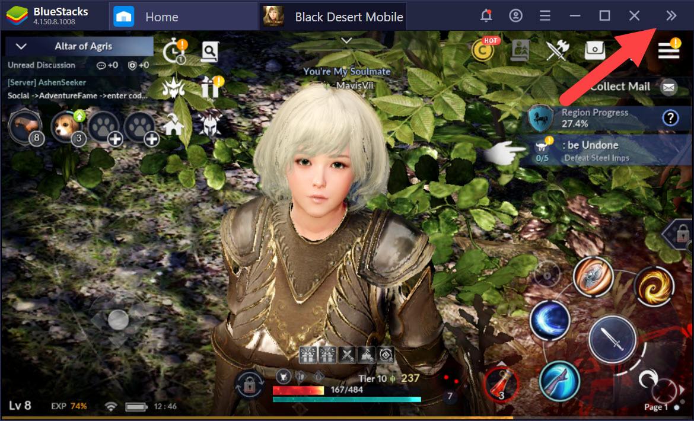 Trở thành cao thủ PvP trong Black Desert Mobile với Game Controls