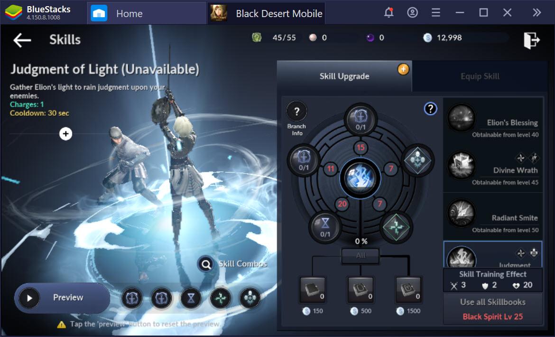 Hệ thống chiến binh thần thánh trong Black Desert Mobile