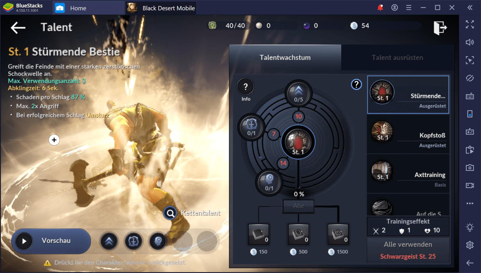 Black Desert Mobile auf dem PC: Welche Klasse solltest du wählen?