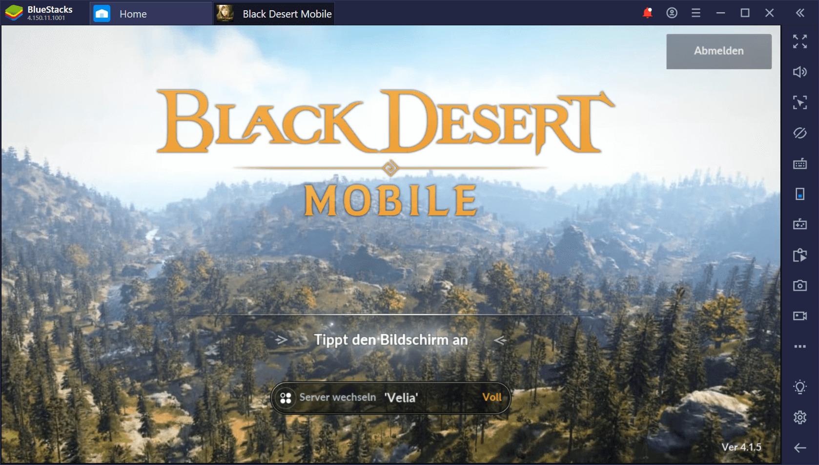 Black Desert Mobile auf dem PC: So steigst du schnell auf