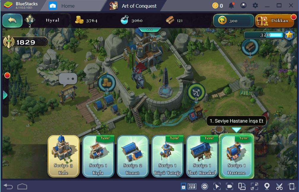Art of Conquest: Yeni Başlayanlar İçin Yararlı Bilgiler