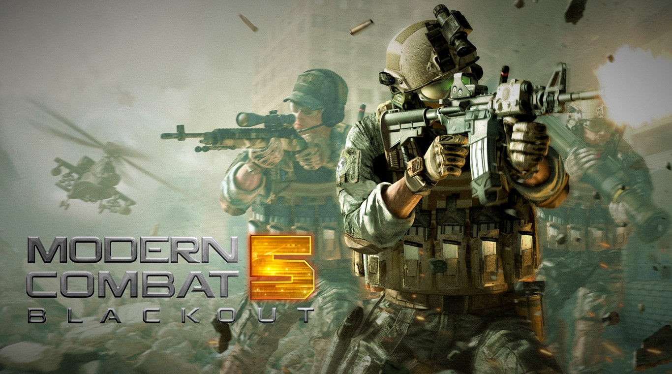 Why play Modern Combat 5 Blackout on Bluestacks
