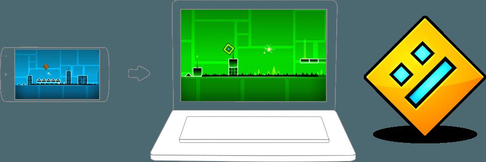 spiele geometry dash lite auf pc und mac mit dem bluestacks android emulator. Black Bedroom Furniture Sets. Home Design Ideas