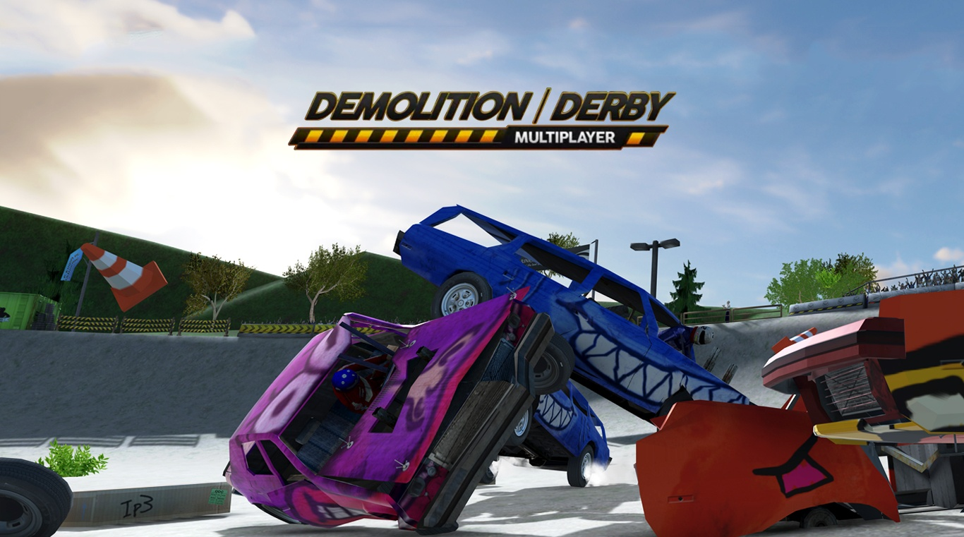 Download Demolition Derby Multiplayer on PC with BlueStacks