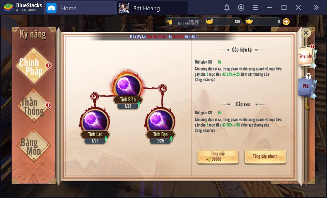 Làm thế nào để chơi Bát Hoang Lãnh Chủ Mobile bằng BlueStacks