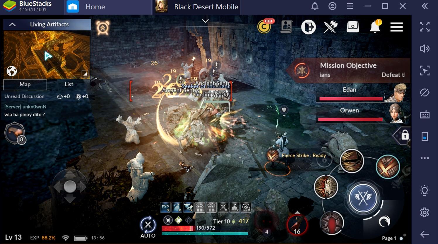 Black Desert Mobile: como subir de nível mais rápido?