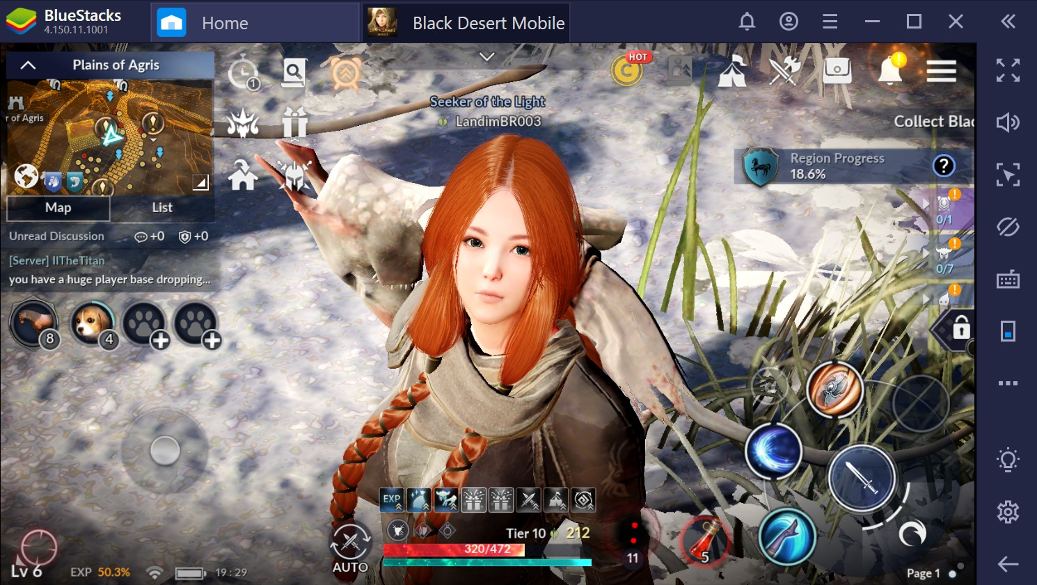Como jogar Black Desert Mobile no PC com o BlueStacks