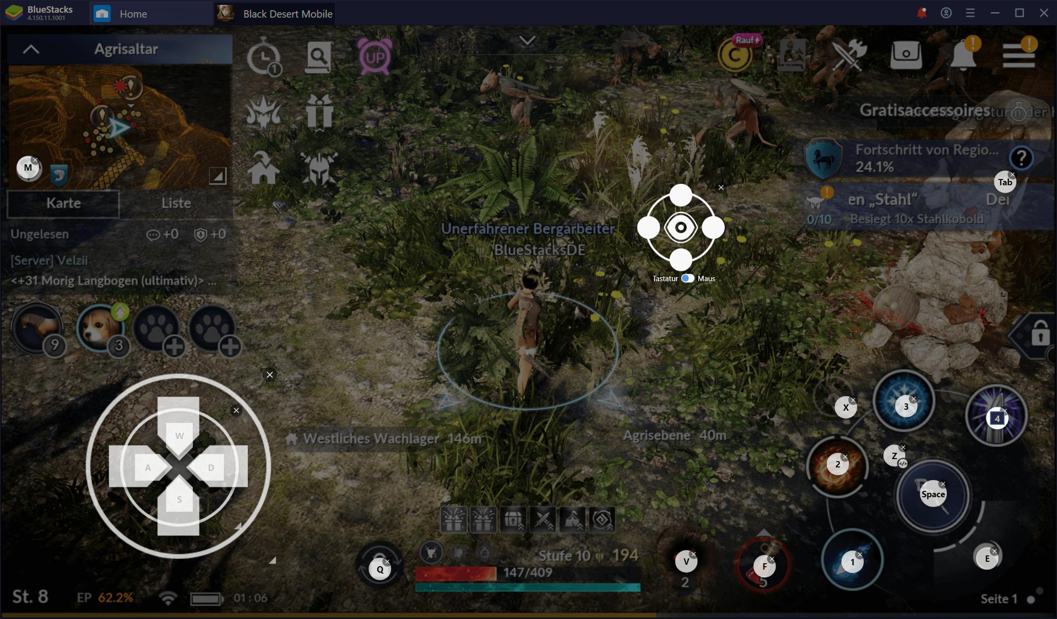 BlueStacks Guide für Black Desert Mobile – Wie du das volle Potenzial dieses MMORPGs nutzt