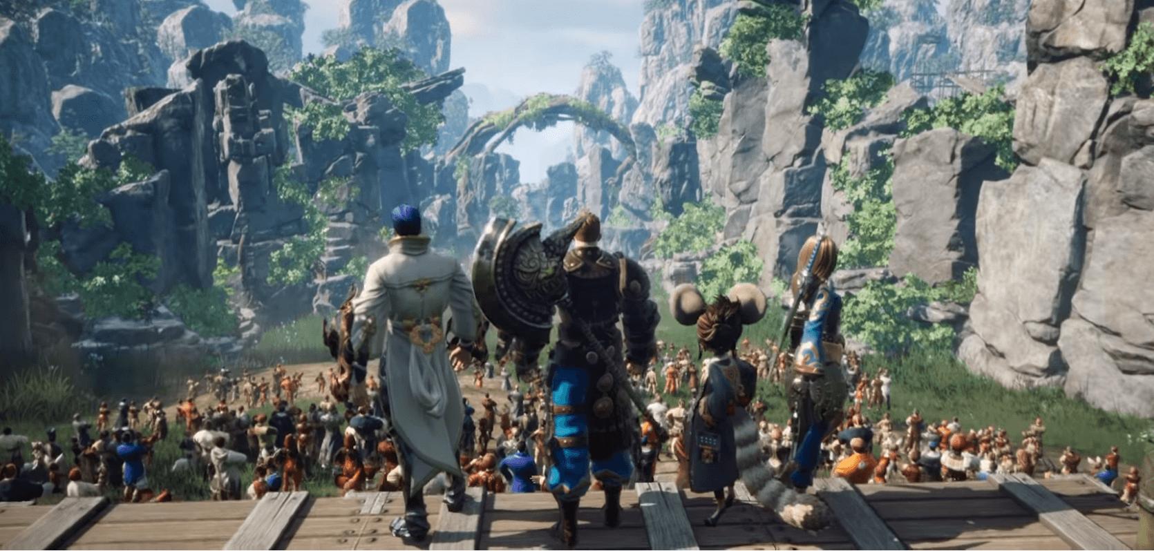 PC MMORPG 블레이드 앤 소울의 정통 후속작, 블레이드 앤 소울 2은 어떤 게임?