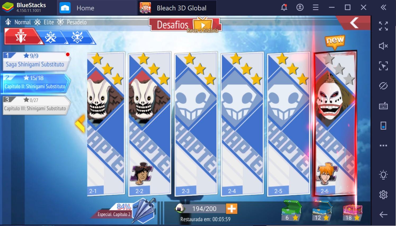 Bleach Mobile 3D: dicas e truques para iniciantes