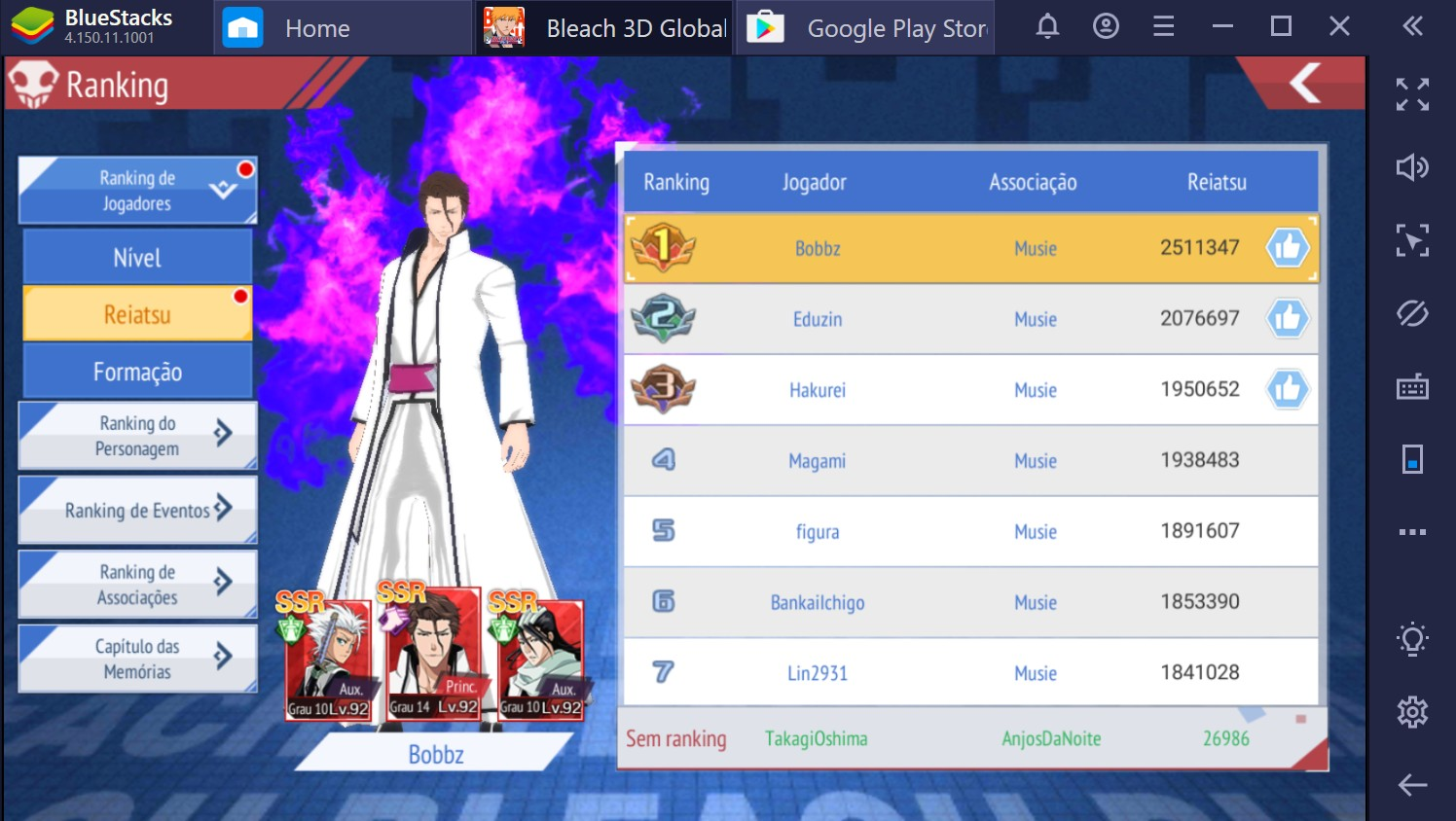 Bleach Mobile 3D: como evoluir seus personagens rapidamente