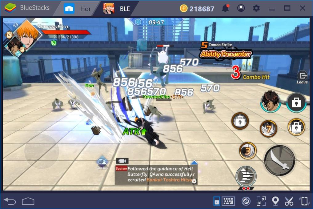 BLEACH Mobile 3D: Hướng dẫn thăng cấp nhân vật và nâng cấp trang bị