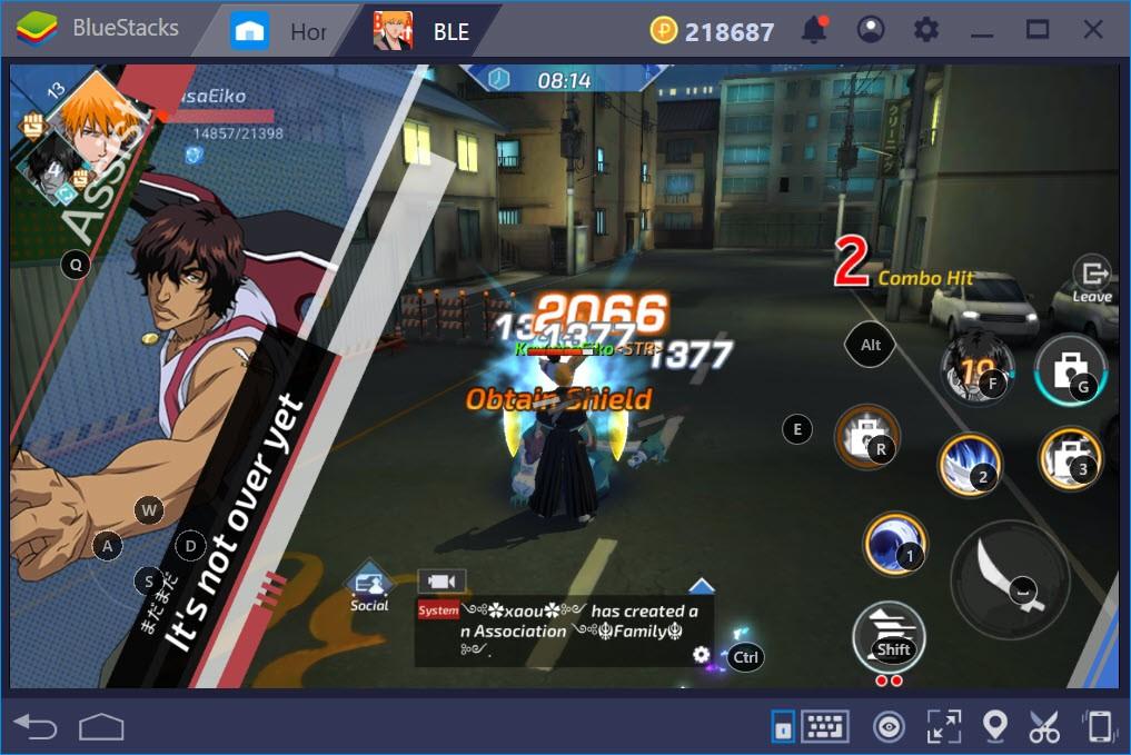 Thiết lập Game Controls khi chơi BLEACH Mobile 3D với BlueStacks