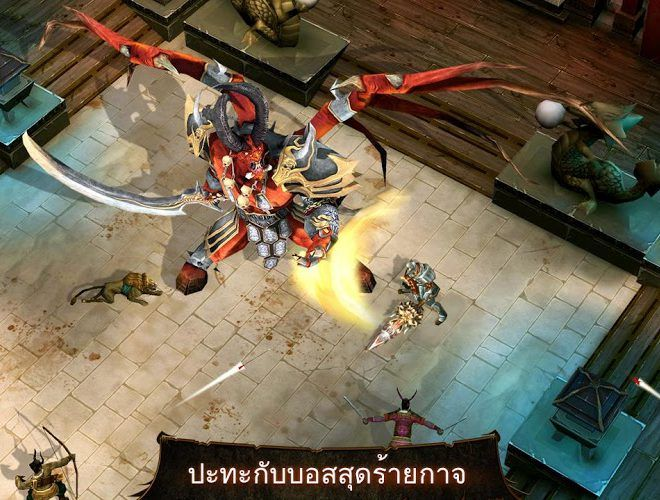 เล่น Dungeon Hunter 4 on PC 6