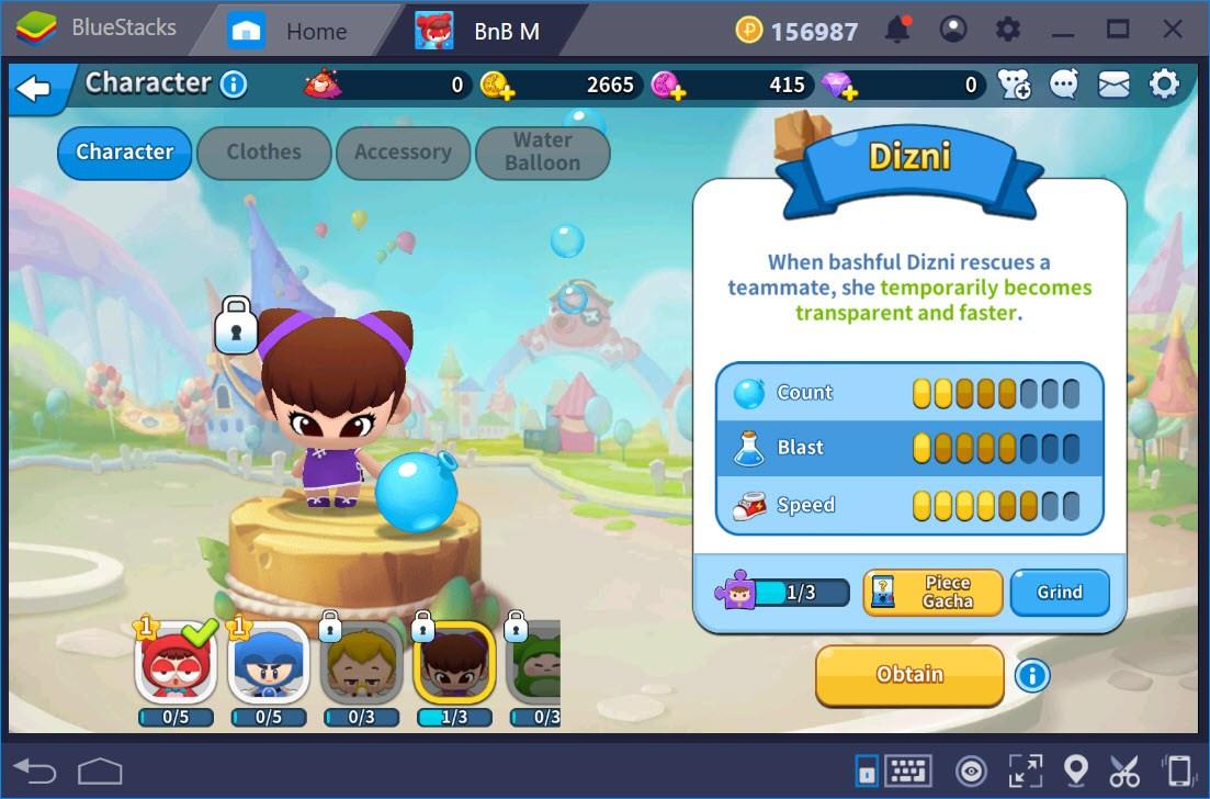 Cẩm nang chọn nhân vật khi chơi BnB M