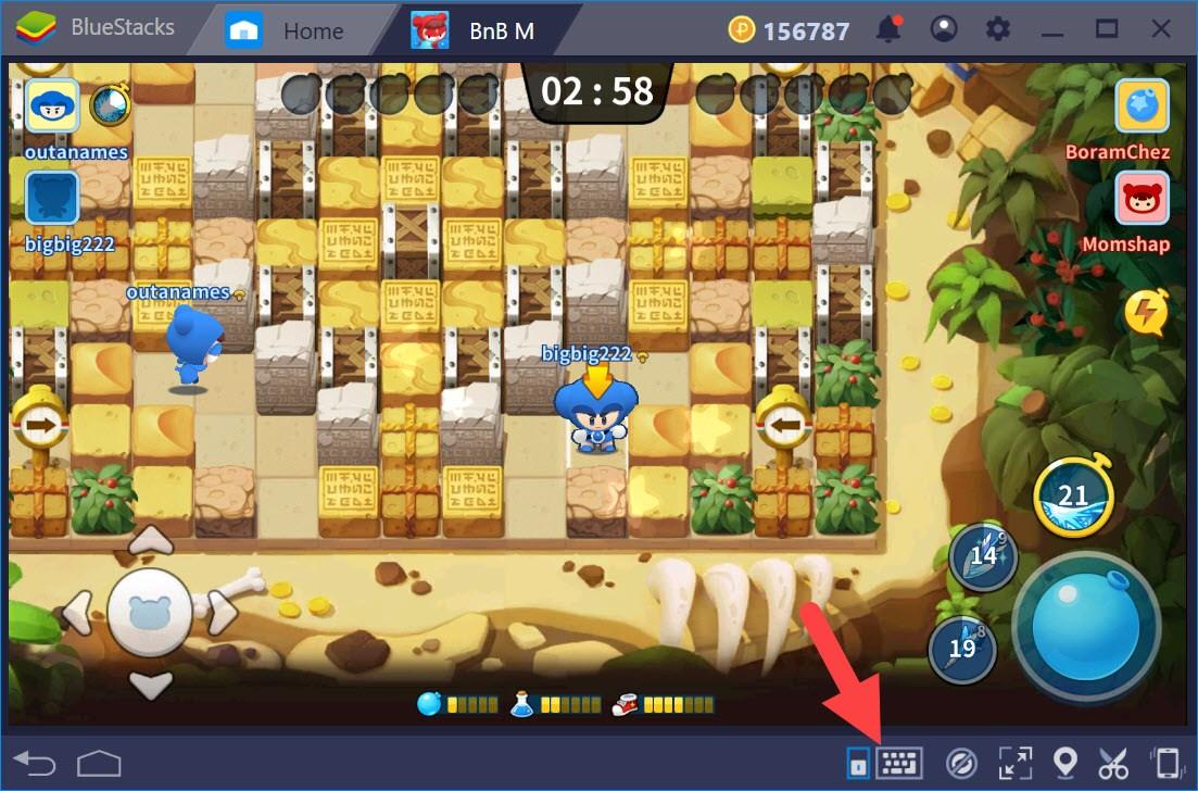 Thiết lập Game Controls khi chơi BnB M với BlueStacks