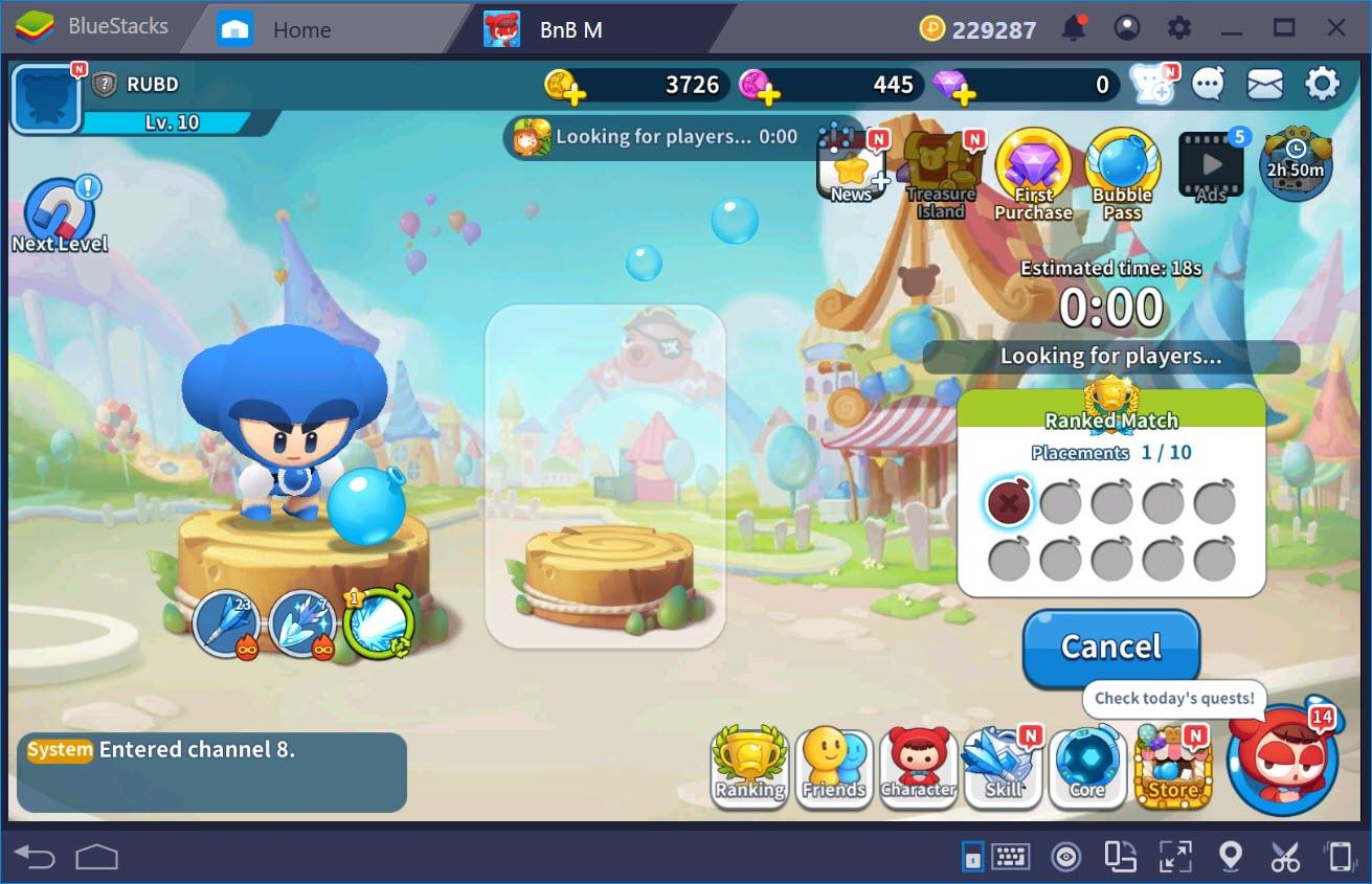 Tìm hiểu các chế độ chơi trong BnB M