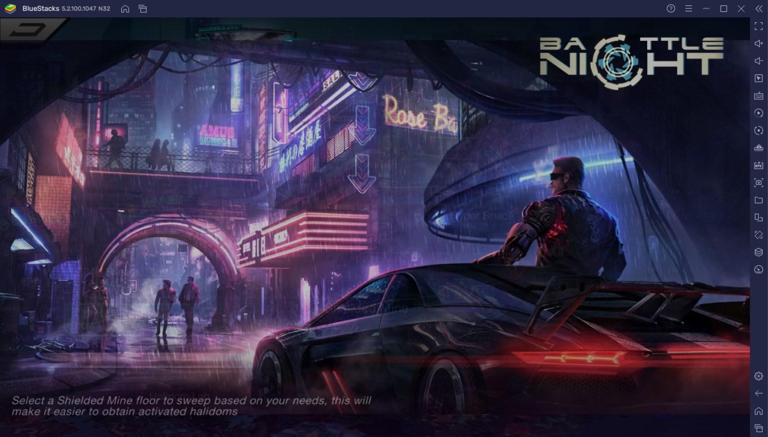 BlueStacks' Beginners Guide To Playing Battle Night: Cyberpunk-Idle RPG