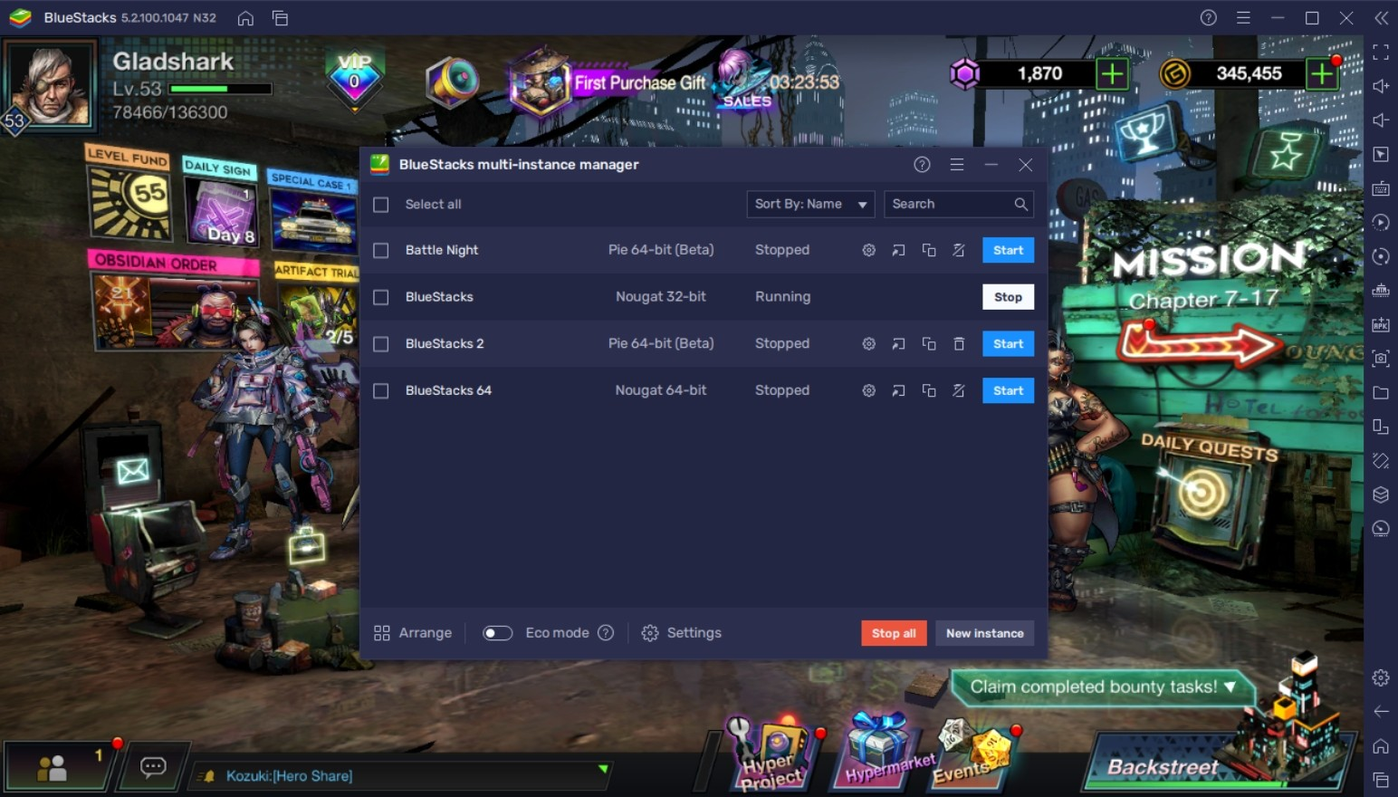 How To Play Battle Night: Cyberpunk-Idle RPG on PC with BlueStacks