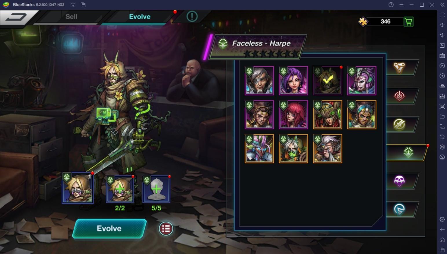 BlueStacks' Guide To Heroes in Battle Night: Cyberpunk-Idle RPG
