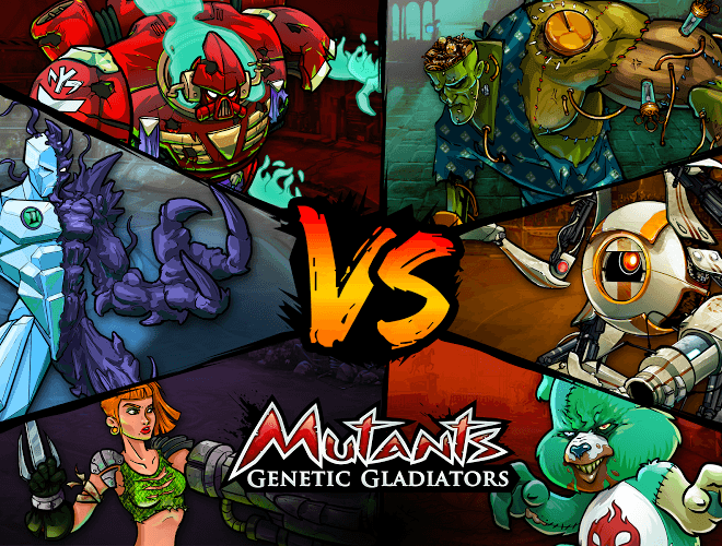 Играй Mutants Genetic Gladiators on pc 14