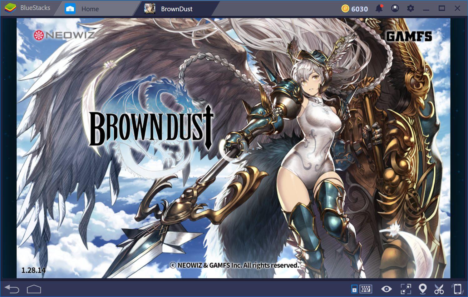 使用BlueStacks 4模擬器在電腦上遊玩 Brown Dust-棕色塵埃