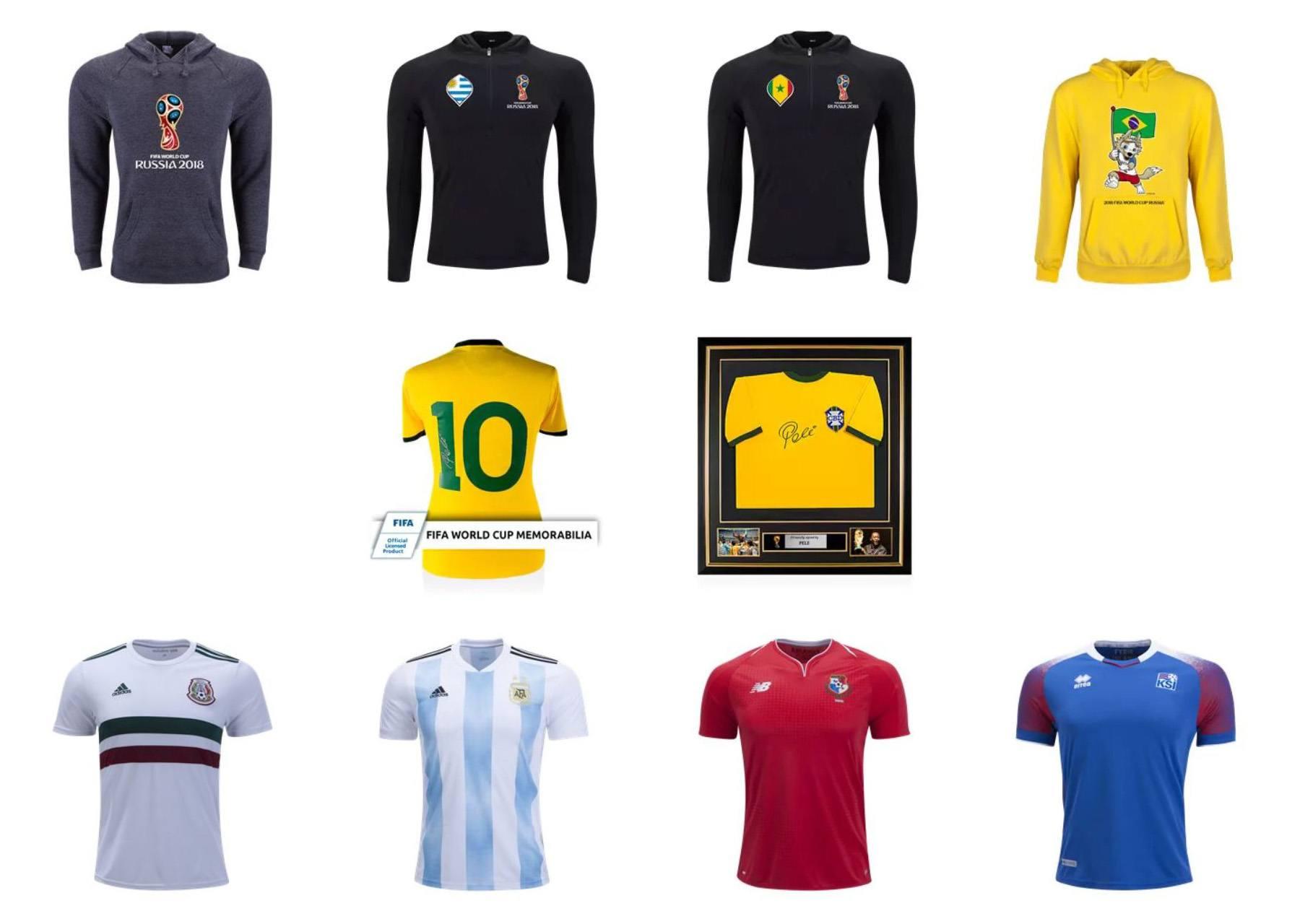 블루스택에서 게임하고 2018 월드컵 공식 굿즈를 받아보세요!