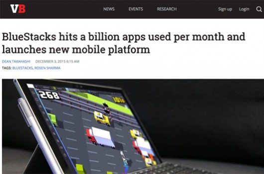 BlueStacks hits a billion apps used per month and launches new mobile platform 3