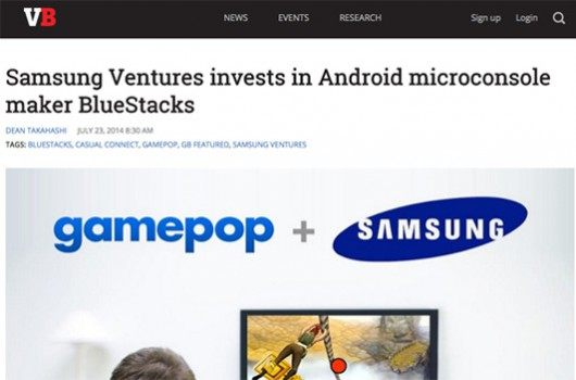 Samsung Ventures invests in Android microconsole maker BlueStacks 10