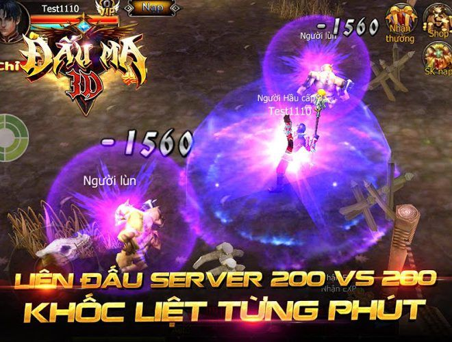 Chơi Đấu Ma 3D on PC 3
