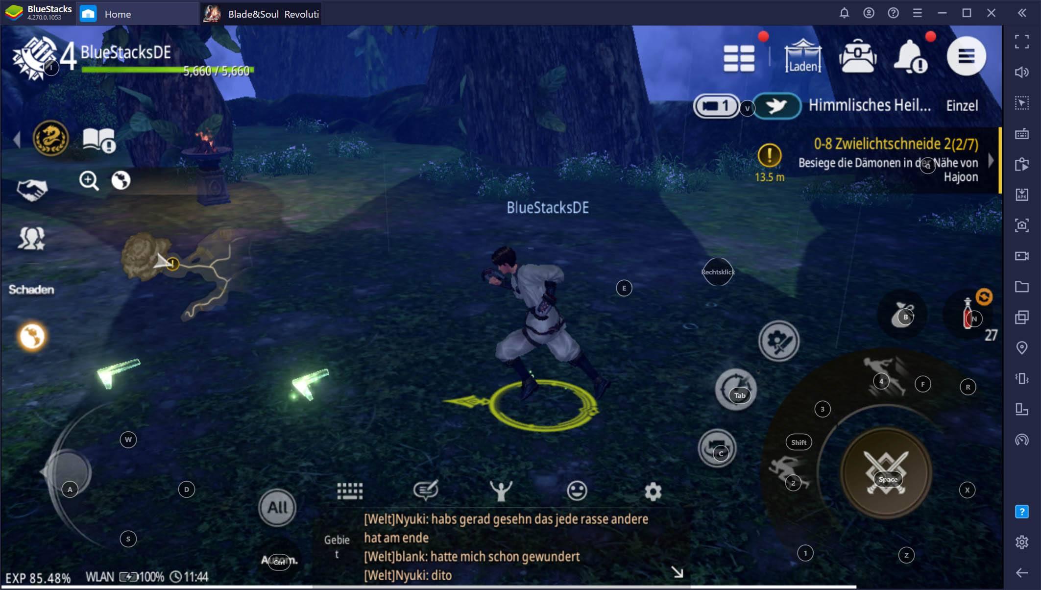 Blade&Soul Revolution auf dem PC – So holst du mit BlueStacks das Beste aus deinem Spiel heraus