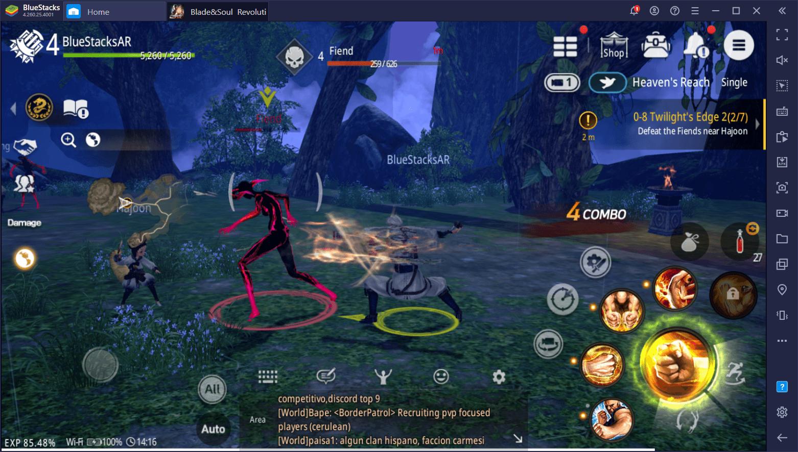 Blade & Soul Revolution: Nâng cao trải nghiệm điều khiển với tính năng Keymapping