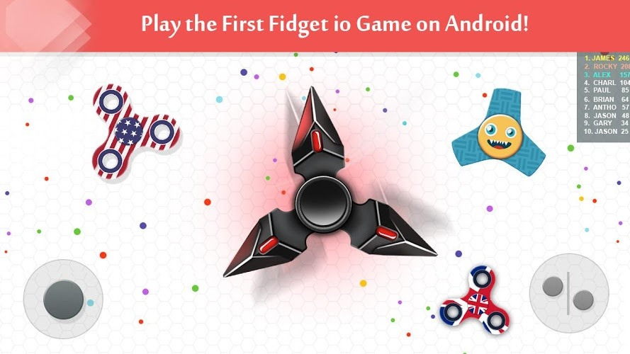 Play Fidget Spinner .io on PC 3