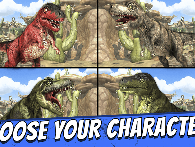 Play Jurassic Run on PC 11