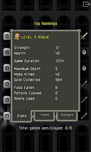 Играй Pixel Dungeon На ПК 9