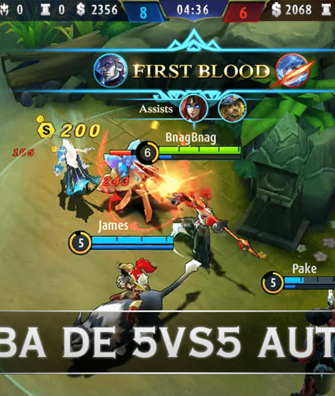 Juega Mobile Legends: Bang bang en PC 3