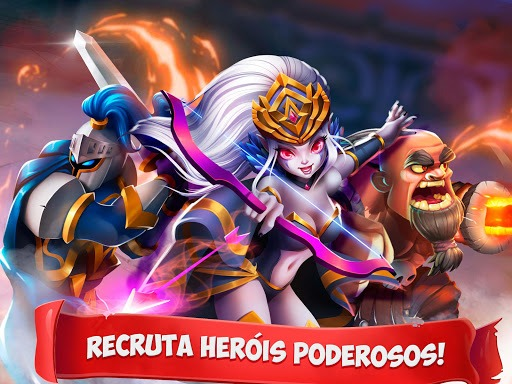 Jogue Epic Summoners: Battle Hero Warriors – Action RPG para PC 6
