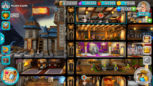 Jogue Hustle Castle- Fantasy Kingdom para PC 9