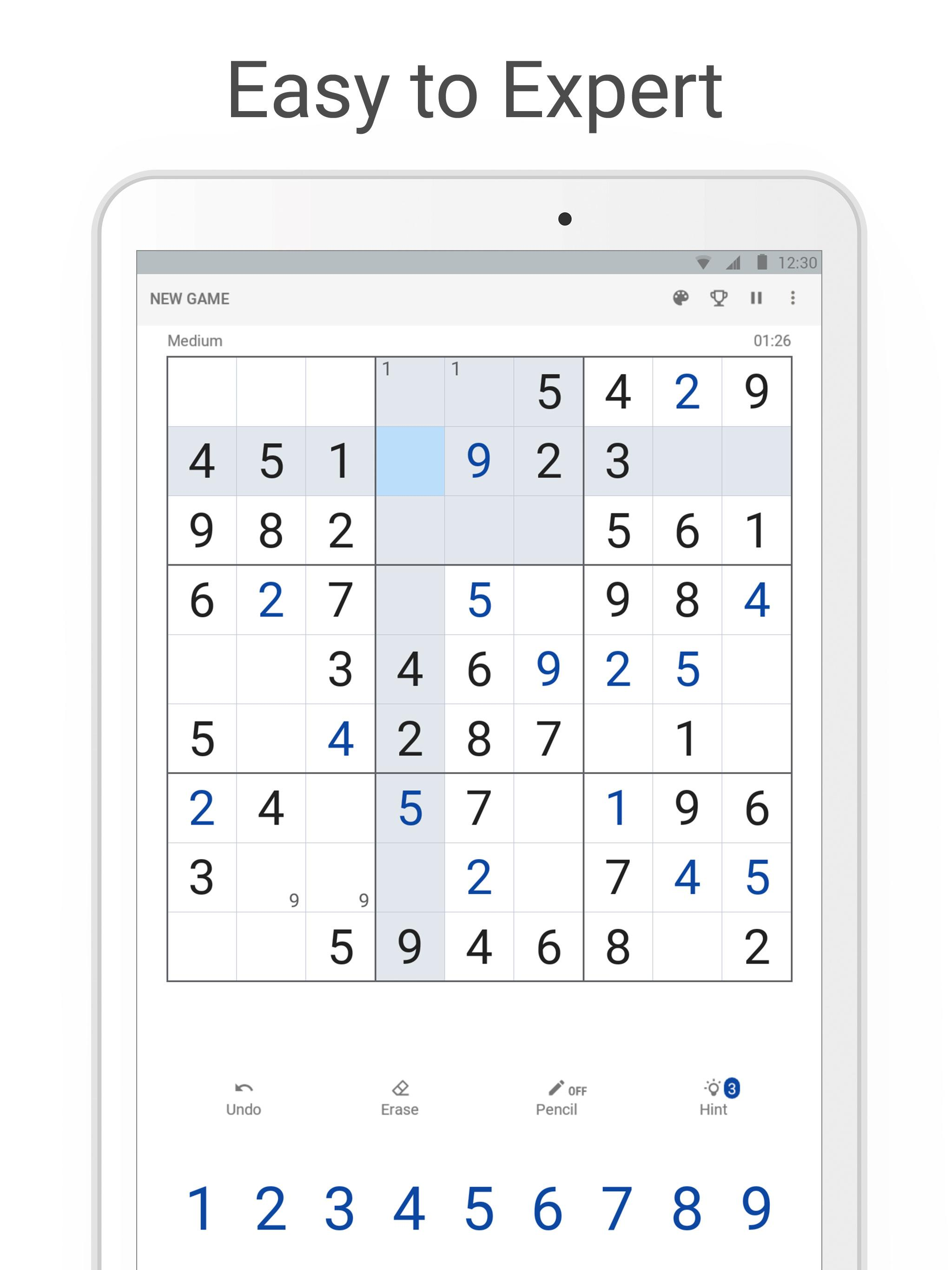 3 Best Sudoku games for PC Windows