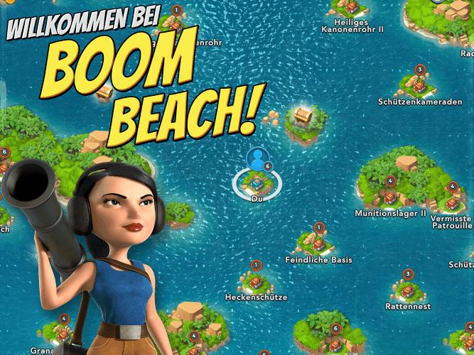 Spiele Boom Beach für PC 3