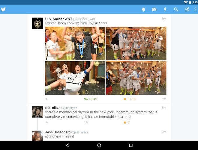 เล่น Twitter Android App on pc 9