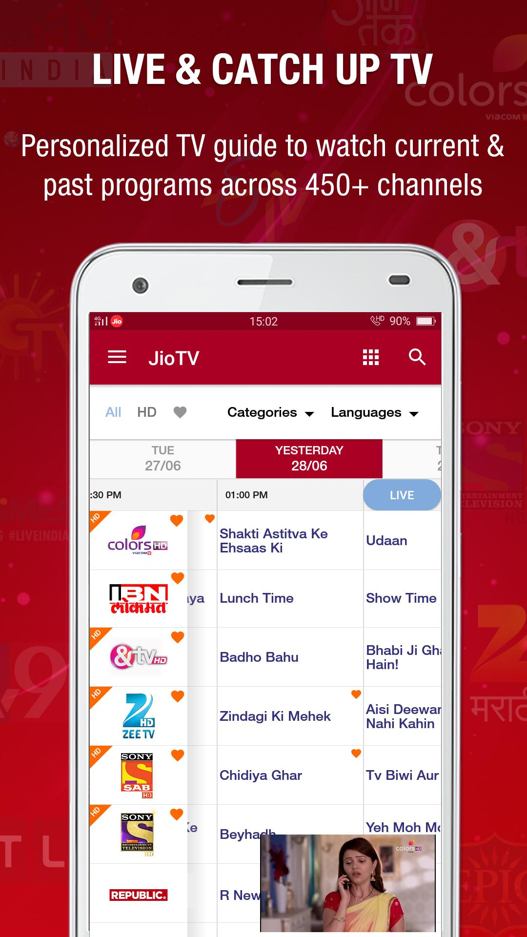 Download JioTV - Bigg Boss, KBC, Live sports & TV shows on