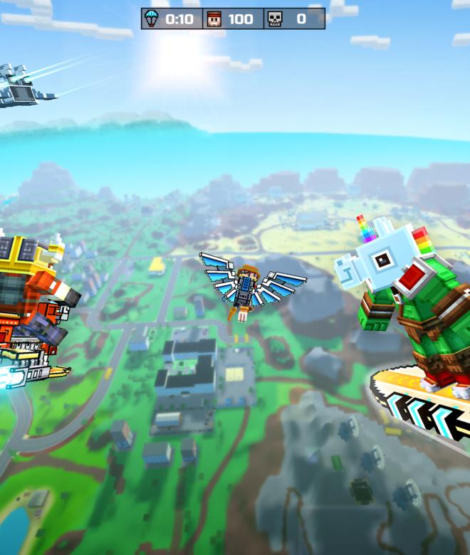 Pixel Gun 3D: Survival shooter & Battle Royale İndirin ve PC'de Oynayın 2