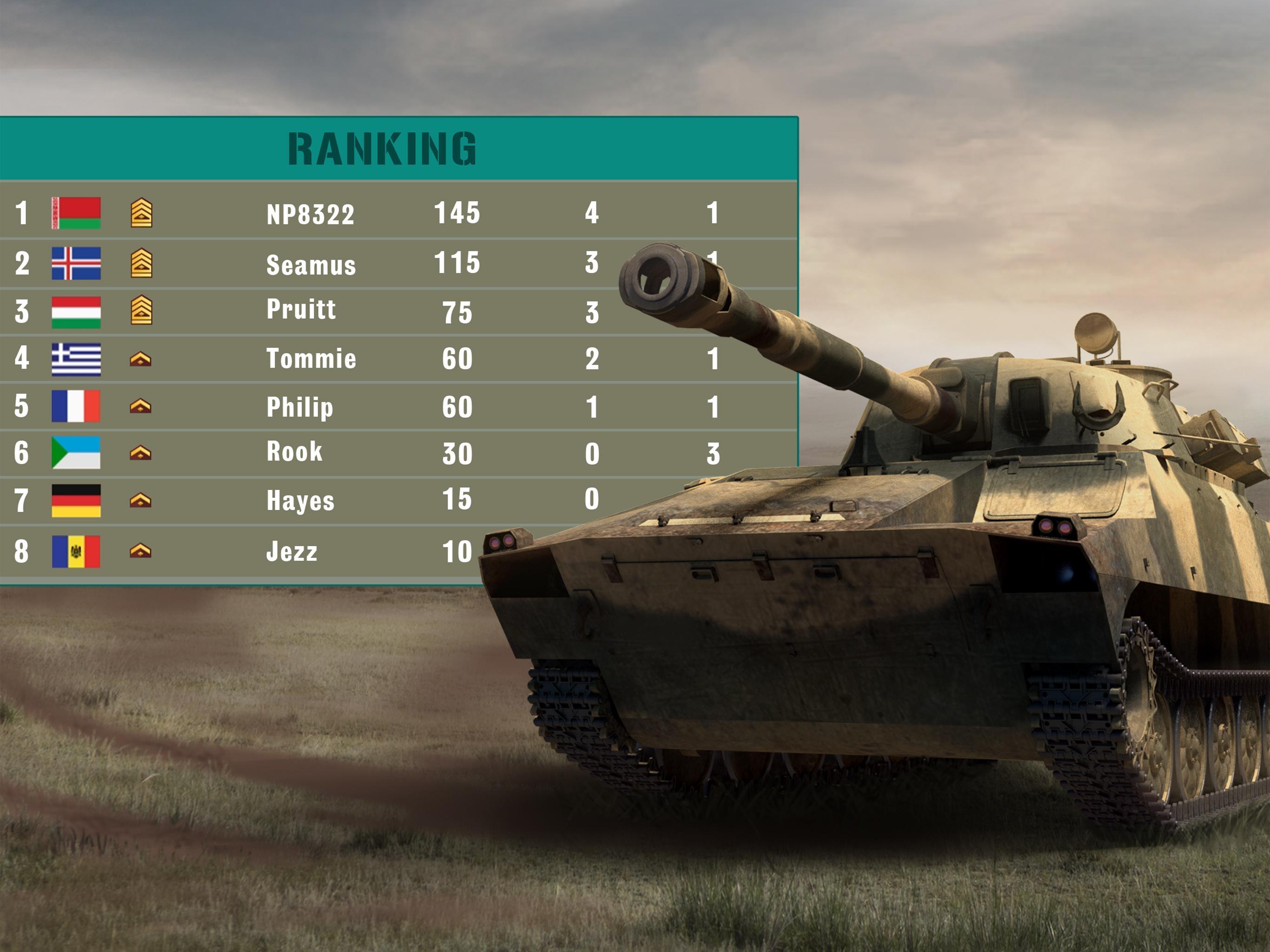 Tanks Online Multiplayer